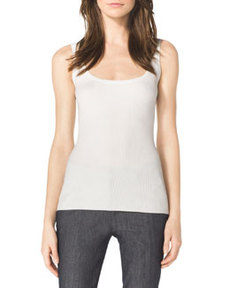 Michael Kors Ribbed Stretch Tank