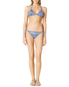 Triangle Beaded Bikini Top   Triangle Beaded Bikini Top