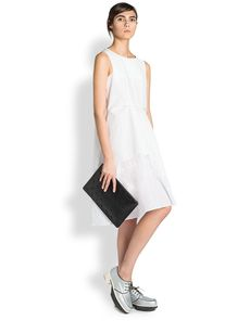 Jil Sander Risk Organza Dress