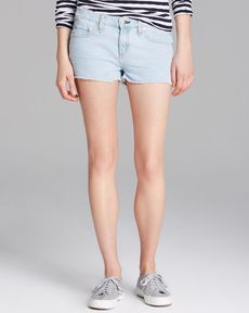 rag & bone/JEAN Shorts - The Cut-Off Denim