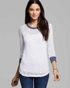 Splendid Sweater - Mineral Melange Loose Knit