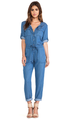 Trina Turk Clovis Jumpsuit in Blue