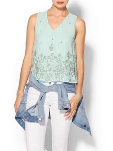 French Connection Fast Quinnie Sequin Top