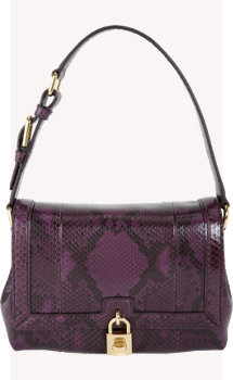 Dolce & Gabbana Medium Python Miss Dolce Bag
