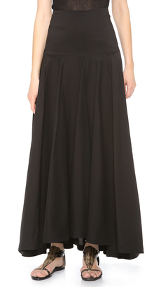Robert Rodriguez Shirting Maxi Skirt