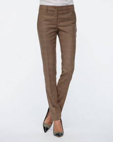 Michael Kors Manchester Plaid Skinny Pants