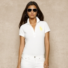 Skinny-Fit Big Pony Polo