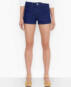 Levi's® Juniors' Dark-Wash Shorts