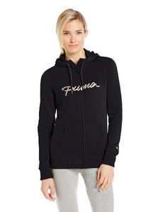 PUMA Women's Full Zip Hood Sweat Shirt