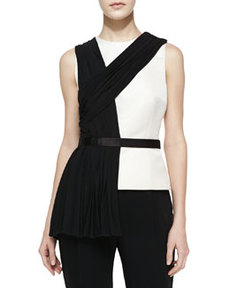JASON WU Draped Sleeveless Shell
