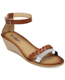 Lucky Brand Women's Leedss Wedge Sandals