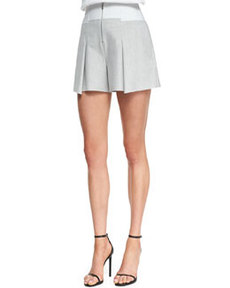 Robert Rodriguez Pleated Bonded Tuxedo Shorts