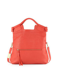 Foley + Corinna Mid City Patent Leather Tote, Anguria