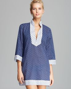 Tory Burch Boria Cover Up Tunic