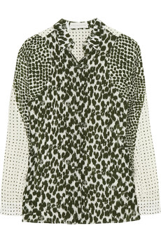Stella McCartney Printed silk shirt