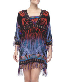 Multi-Color Print Coverup   Multi-Color Print Coverup