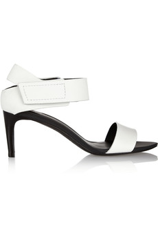 Tibi Baxter matte-leather sandals