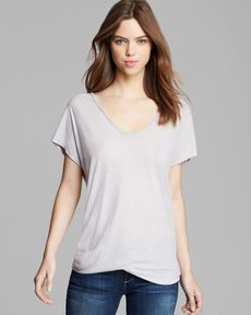 Soft Joie Tee - Rozo Heathered Jersey