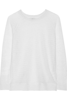 Joie Ronni open-knit linen sweater