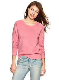 Cloud wash sweatshirt