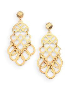 Tory Burch Lace Drop Earrings