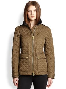 Burberry Brit Cartford Quilted Field Jacket