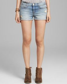 J Brand Shorts - Patti Distressed in Magnetic