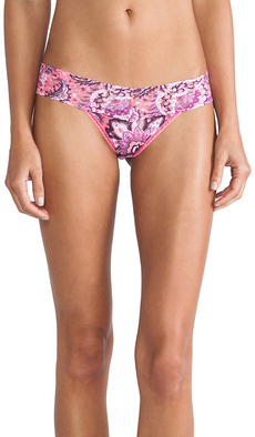 Hanky Panky Indira Low Rise Thong in Coral