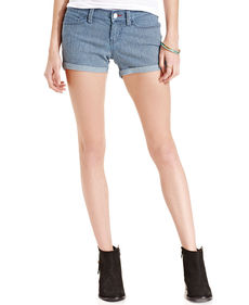 Levi's® Juniors' Cuffed Shorts Railroad