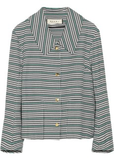 Marni Woven cotton jacket