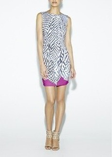 Lauren Sailcloth Stripe Dress