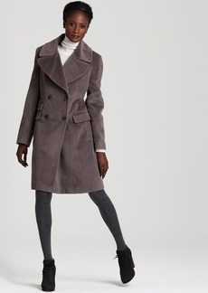 Calvin Klein Premium Double Breasted Boyfriend Coat