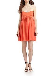 Diane von Furstenberg Asti Silk A-Line Dress