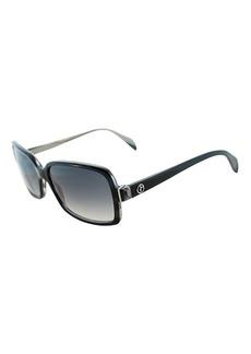 Giorgio Armani grey plastic 55mm sunglasses