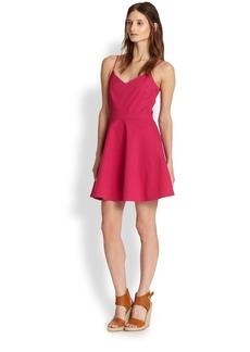 Joie Viernan Stretch Cotton Fit-&-Flare Dress