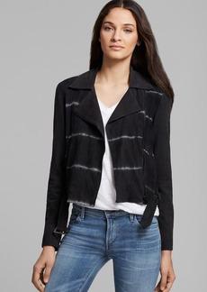 Joe's Jeans Jacket - Tie Dye Moto Suede