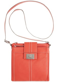 Tignanello Fab Function Leather Crossbody Bag