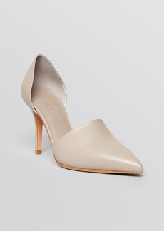 Vince Pointed Toe D'Orsay Pumps - Claire High Heel
