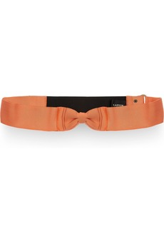 Lanvin Elasticated grosgrain bow belt