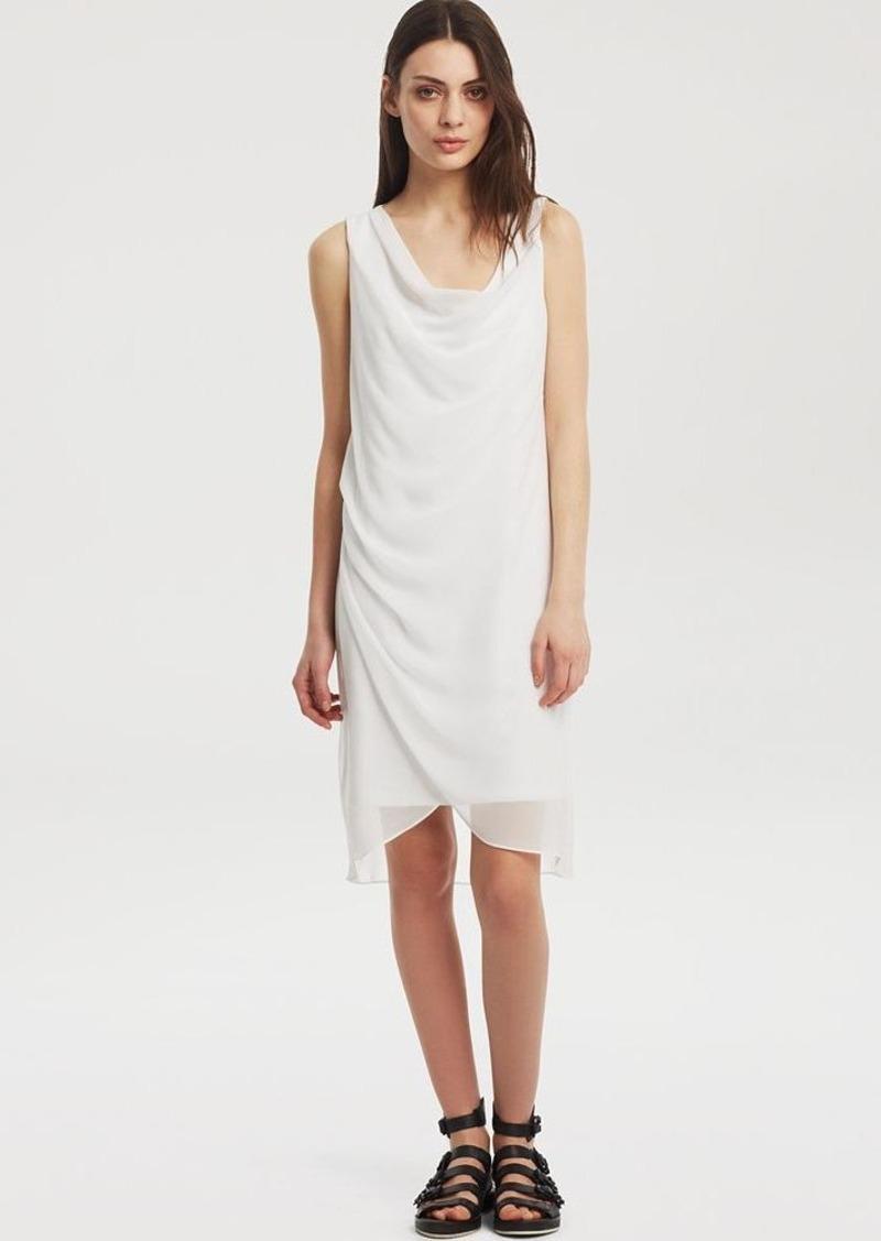 Kenneth Cole New York Cecilea Sleeveless Drape Dress
