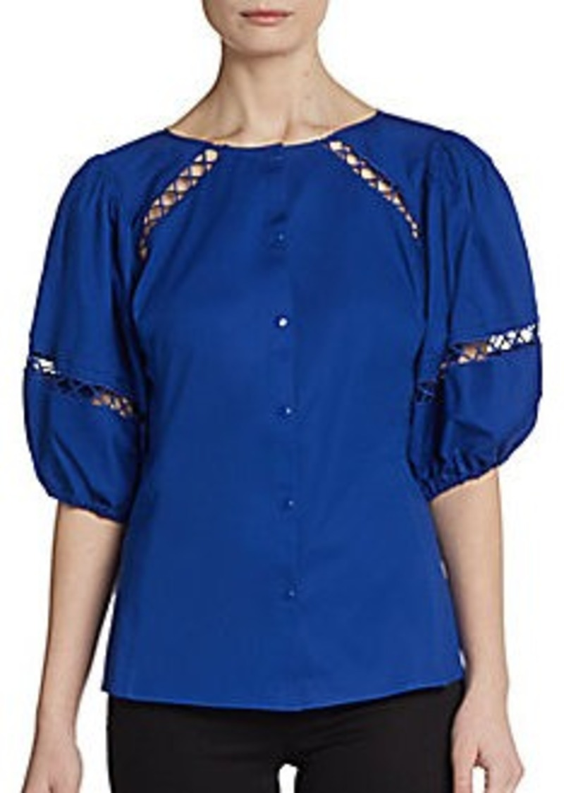 Catherine Malandrino Connie Peasant Top