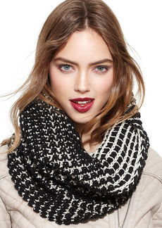 Steve Madden Two-Tone Reversible Snood Scarf