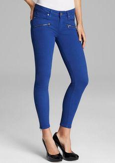 Paige Denim Jeans - Jane Zip Skinny in Ocean Blue