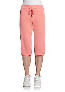 Calvin Klein Performance Cropped Drawstring Sweatpants