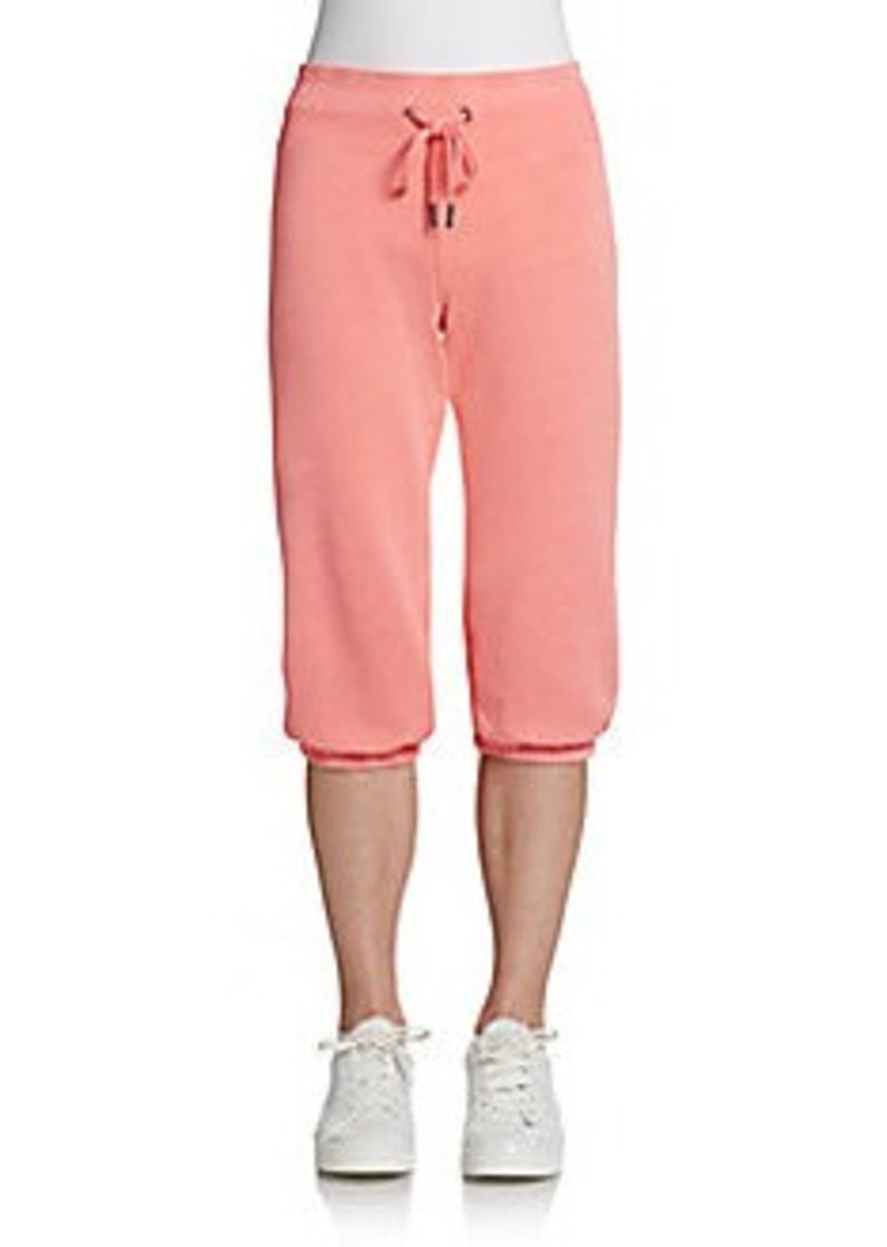 Calvin Klein Performance Cropped Drawstring Sweatpants