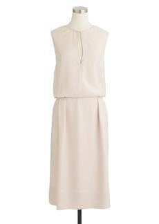 Collection draped keyhole dress