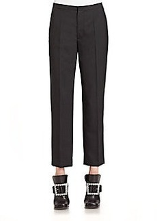 Marc Jacobs Cropped Wool Pants