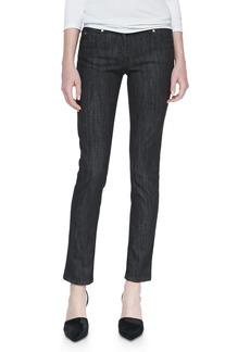 Michael Kors Stretch Twill Jeans, Black