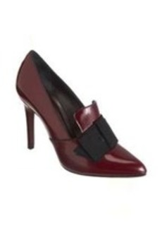 Lanvin Bow Loafer Pump