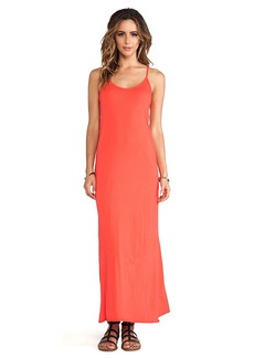 Velvet by Graham & Spencer Nima Gauzy Whisper Dress in Orange